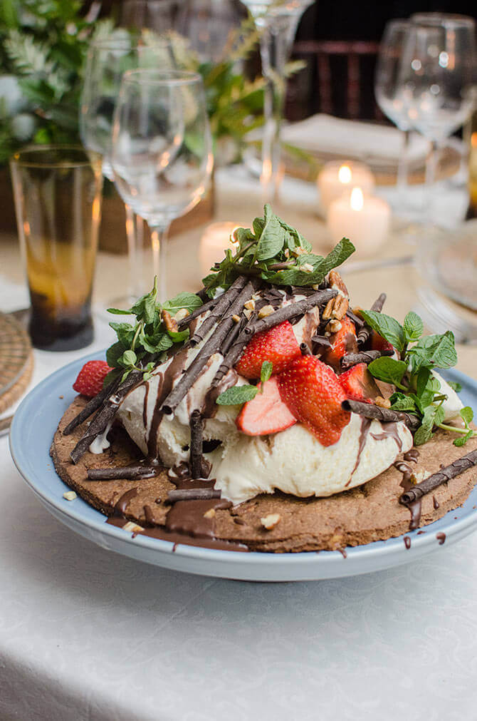 Chocolate Pizza By Word Of Mouth