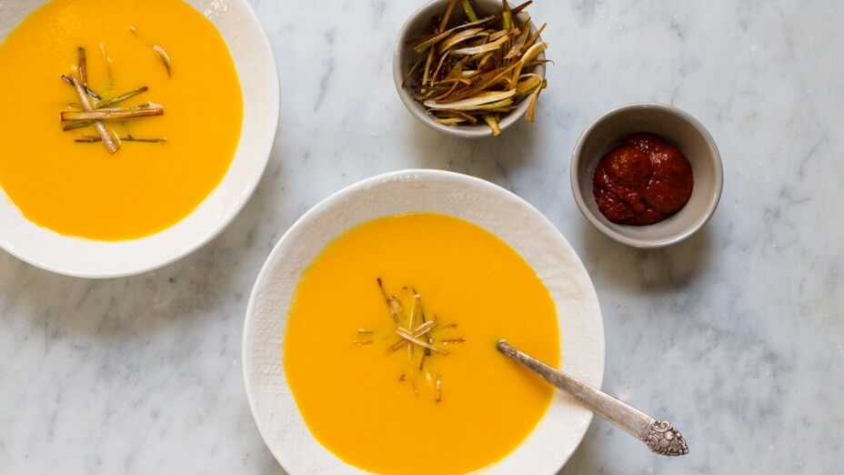 coconut-carrot-soup-with-leeks