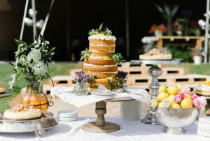Citrus wedding cake (By Word Of Mouth)